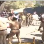 pune police hearing impaired lathi charge